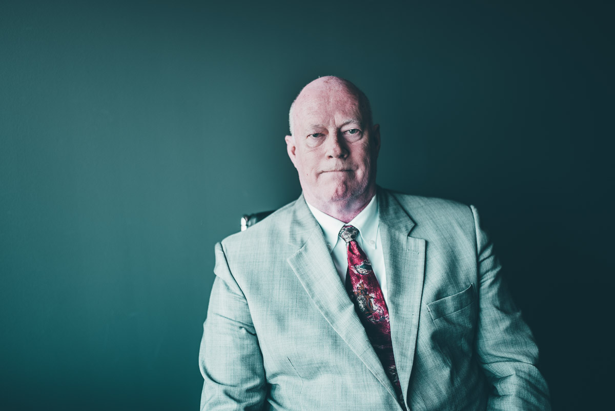 Portrait of Edmonton Criminal Defence Lawyer Dale Knisely